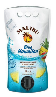Malibu Cocktails Blue Hawaiian